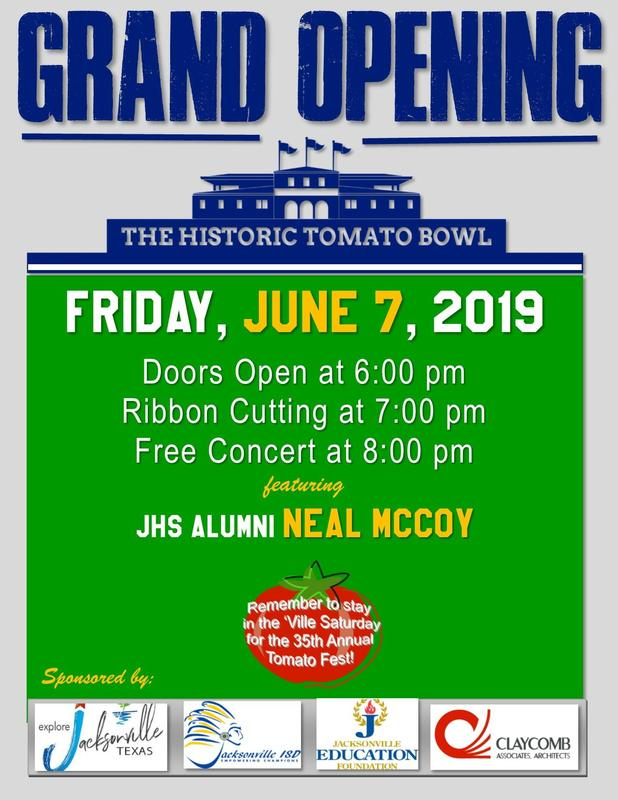 Tomato Bowl Grand Opening info