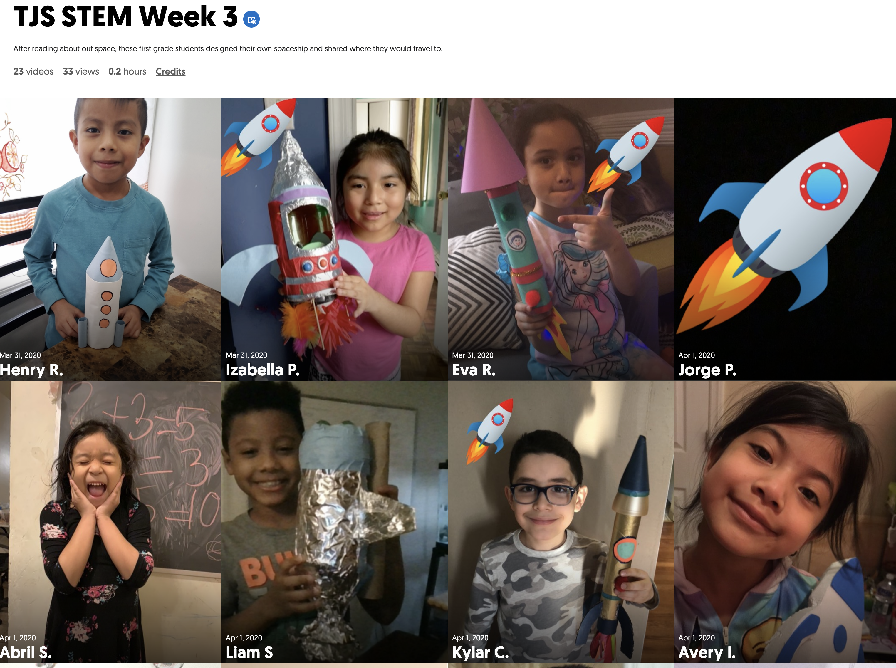 week 3 flipgrid mix tape picture and link