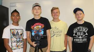 Members of CHS On Demand Video Team