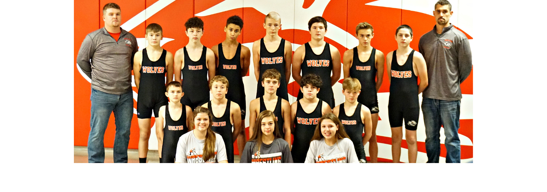 picture of RSMS wrestling team