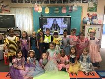 "There was a wedding in Grand Coteau Elementary's Pre-K today!! ""q"" and ""u"" are best friends and ALWAYS together so they decided to be joined in phonemic awareness. They promised to never QUIT and to never make each other QUEASY!"