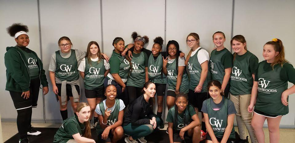 GWCS Girls Basketball Team