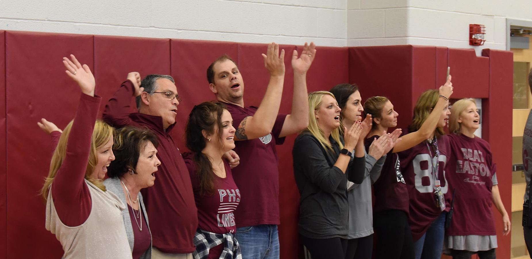 PHS Staff Pep Rally