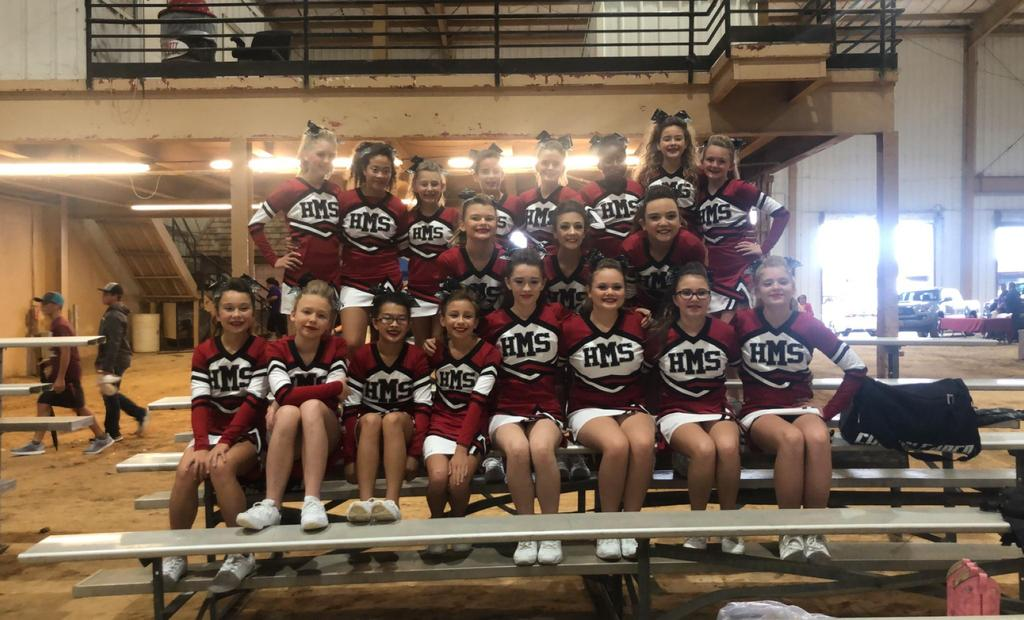 HMS Cheer at Forest Festival competition
