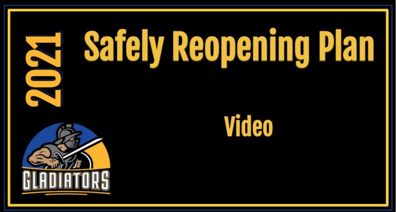 Safely Reopening Plan