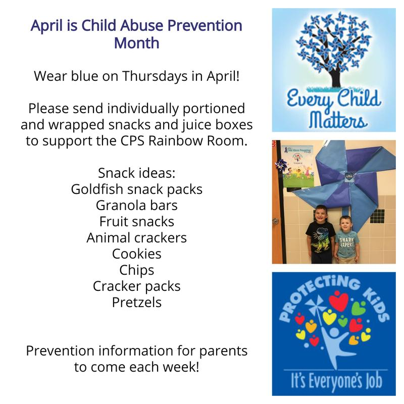 April is Child Abuse Prevention Month Thumbnail Image