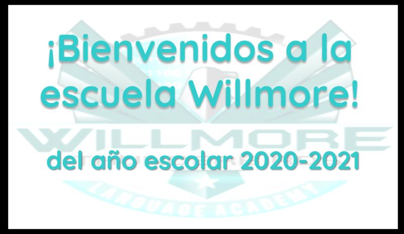 Bienvenidos a Escuela Willmore