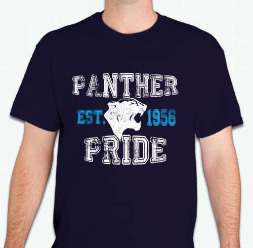 Panther Pride shirts