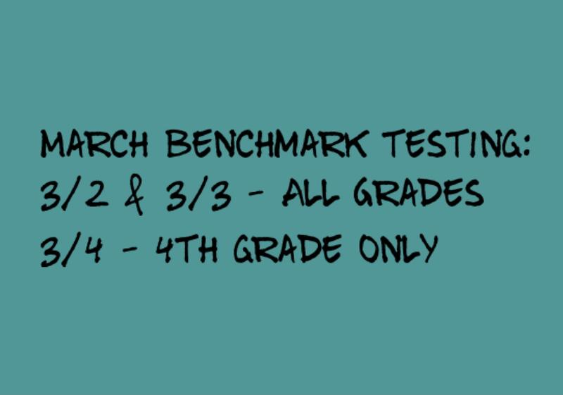 March Benchmark Testing is coming soon! Featured Photo