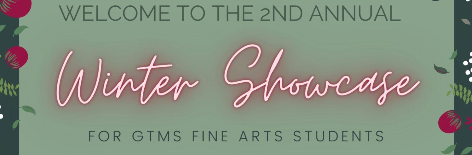 Fine Arts Virtual Showcase
