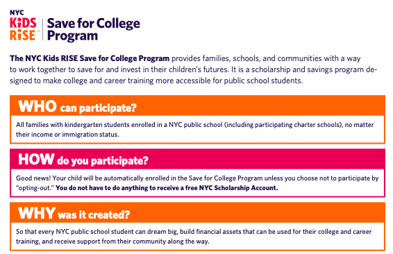 ***Save for College Program*** Featured Photo