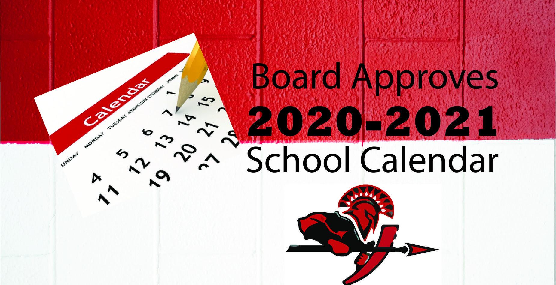 School board approves 2020-2021 school calendar