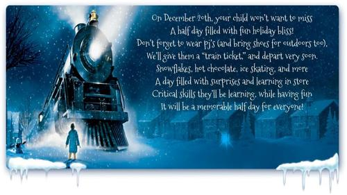 Polar Express Day is Friday