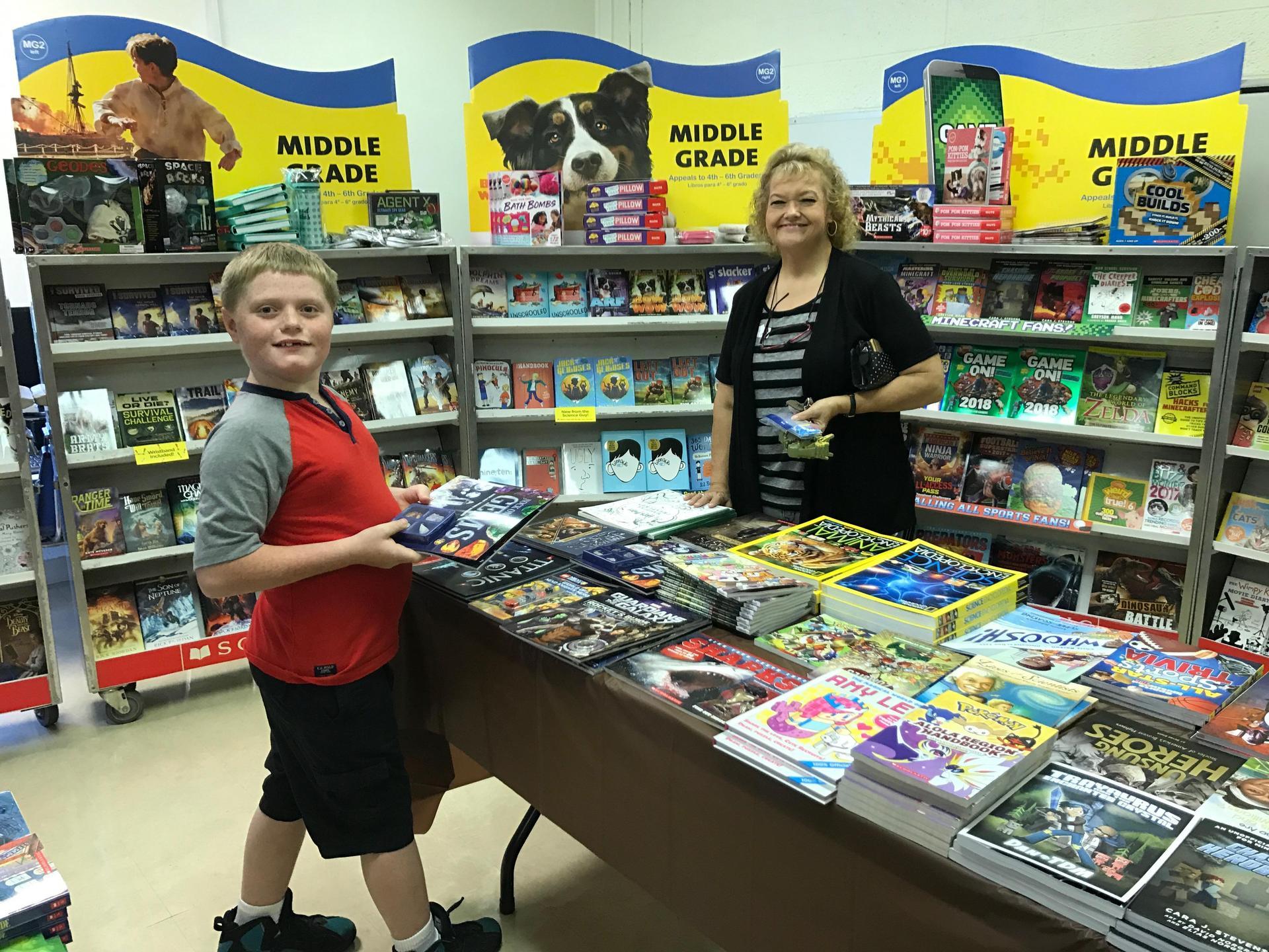 Book fair at TES
