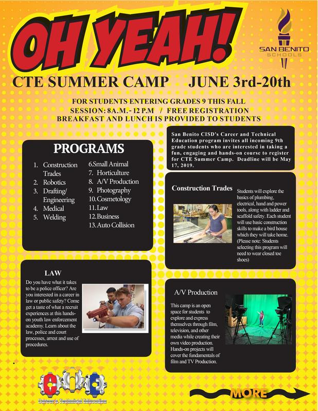CTE Summer Camp
