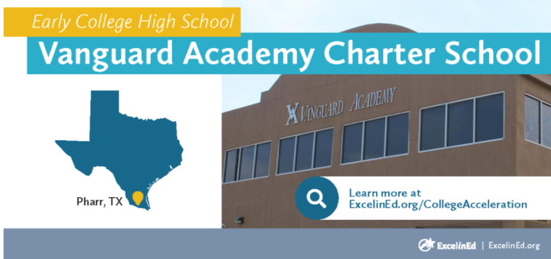 Vanguard Academy recognized as a model Early College High School in the Foundation for Excellence in Education! Featured Photo