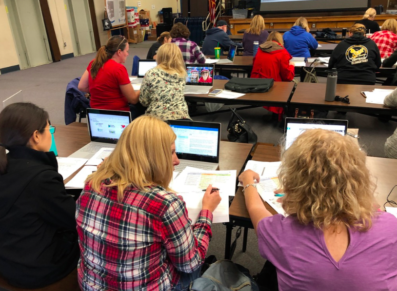 CESD Educators Incorporating Instructional Technology to Increase Student Engagement