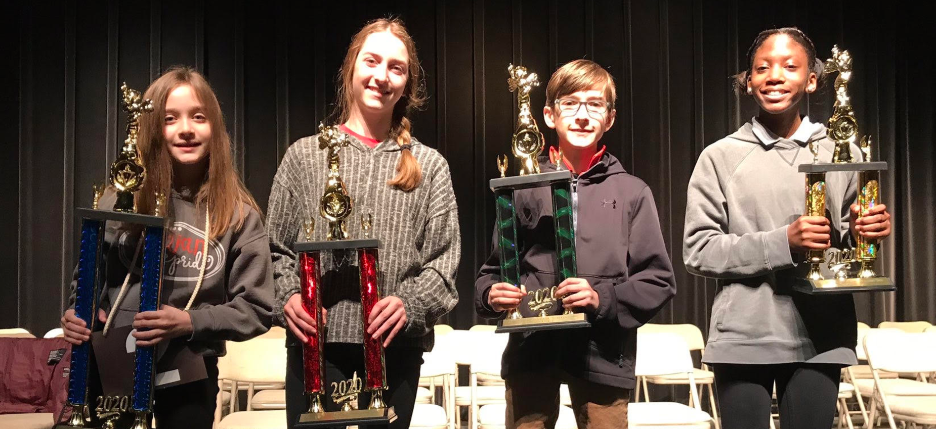 Picture of LCSD Spelling Bee winners