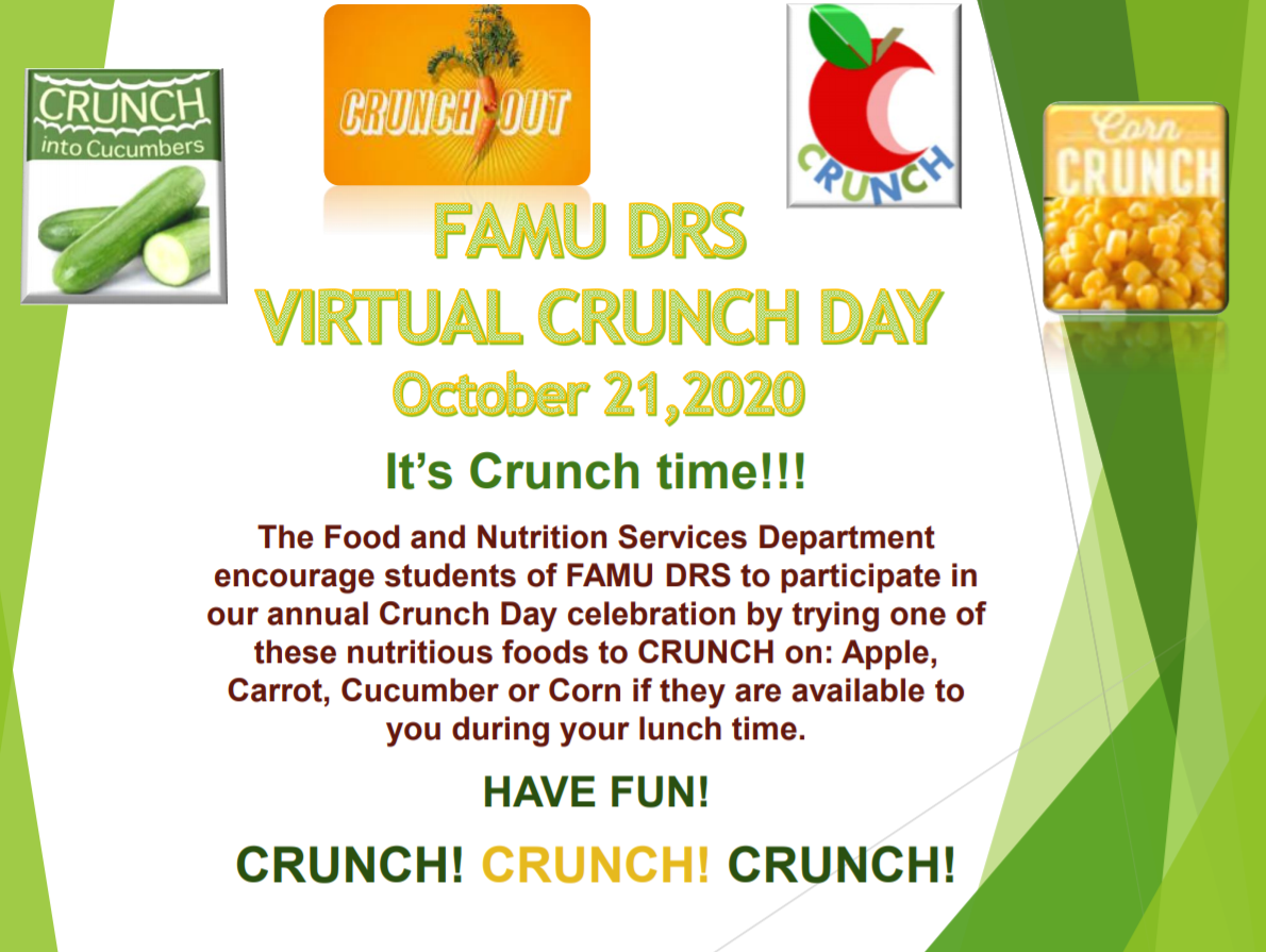 Crunch Day 2020 Flyer