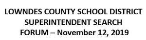 superintendent search forum