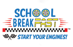 """NATIONAL SCHOOL BREAKFAST WEEK MARCH 4-8, 2019 Mark your calendar for National School Breakfast Week—March 4-8, 2019! The #NSBW19 theme  is """"Start Your Engines With School Breakfast,"""" which is designed to show parents, students, and  school officials the benefits of fueling up for the day with a healthy school breakfast. Start planning your celebration today."""