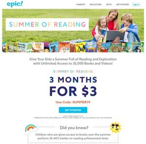 epic! summer of reading