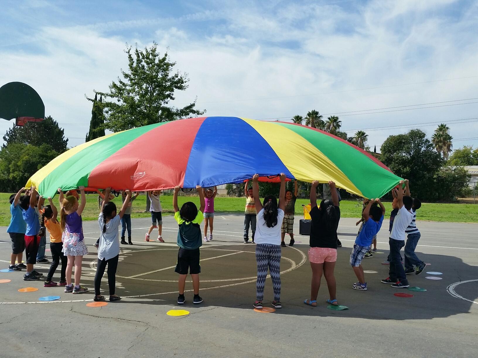 parachute lesson