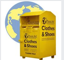 clothes collection box image
