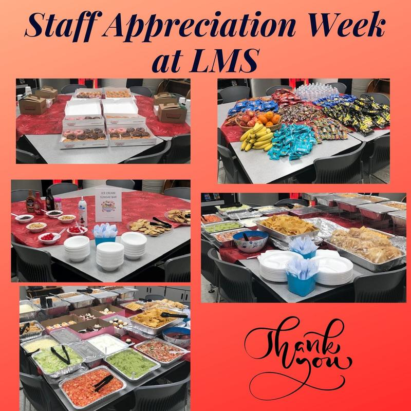 Staff Appreciation Week pictures