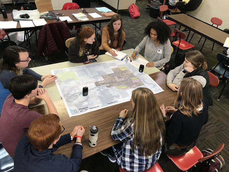 MHS Students Participate in Community Visioning Thumbnail Image