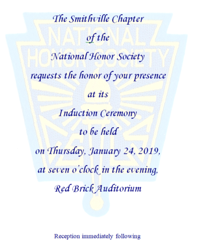 NHS Invitation