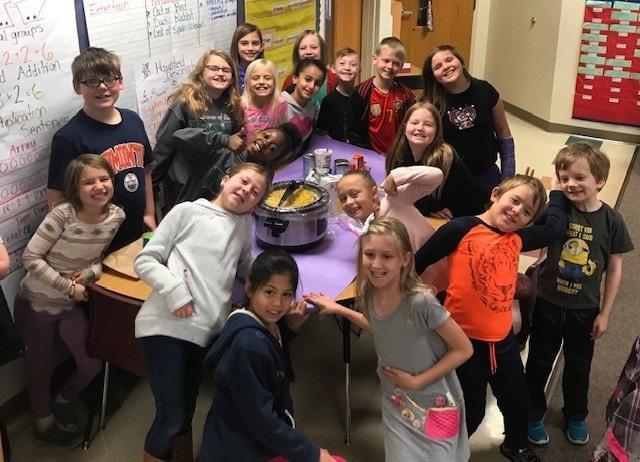 Our fantastic 3rd grade teachers are celebrating the season of thankfulness! Thumbnail Image