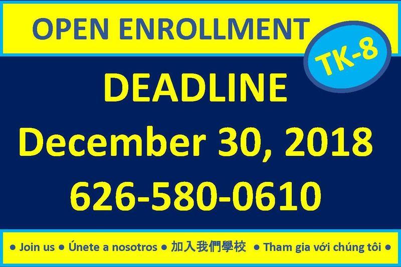 Open Enrollment 2019-2020