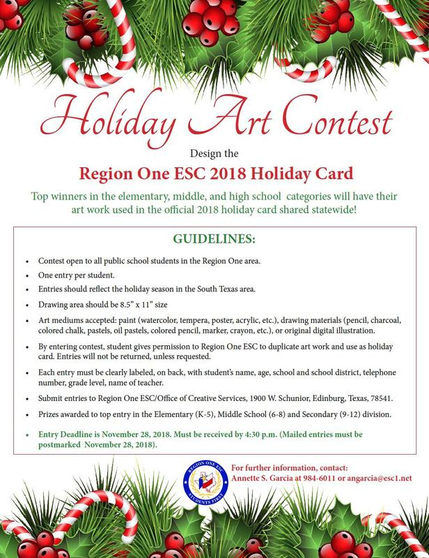 Holiday Art Contest