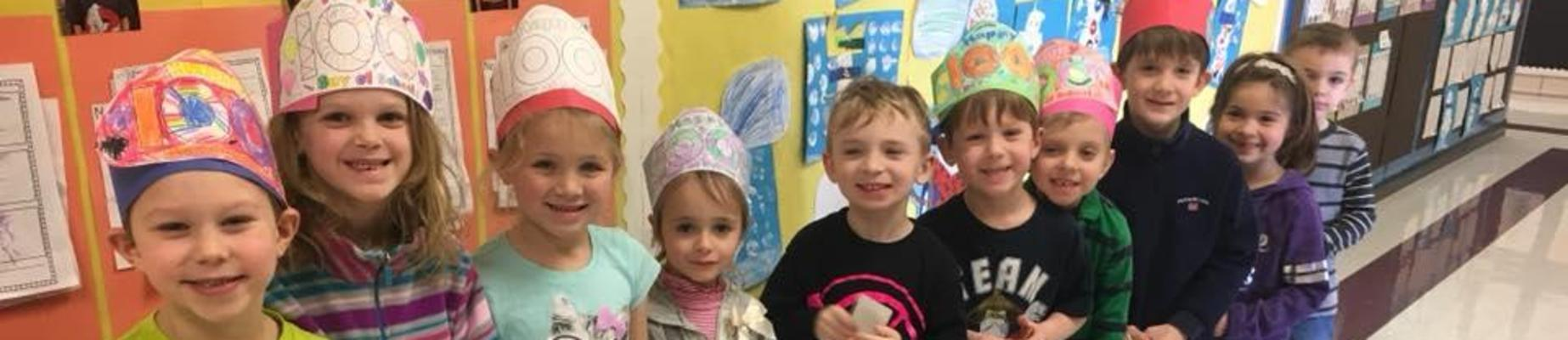 PS celebrate 100 days of school