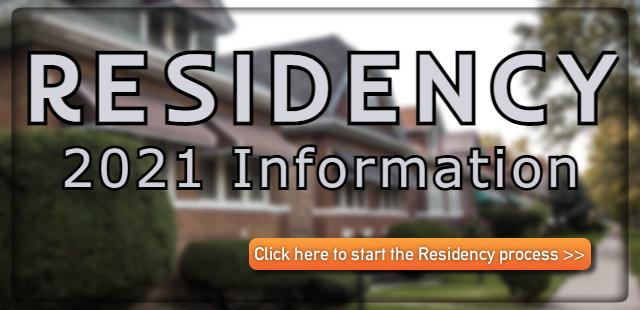 Residency 2021 Information