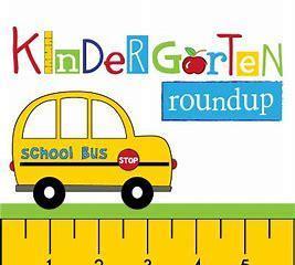 bus photo with kindergarten round up