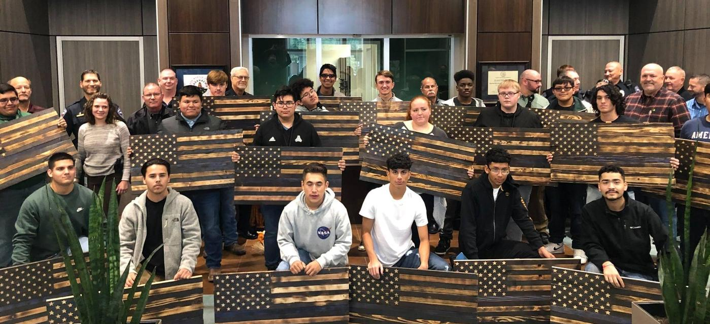 construction and building trades students crafted