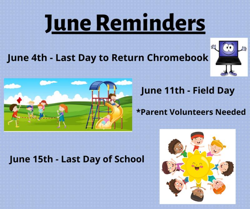 June Reminders