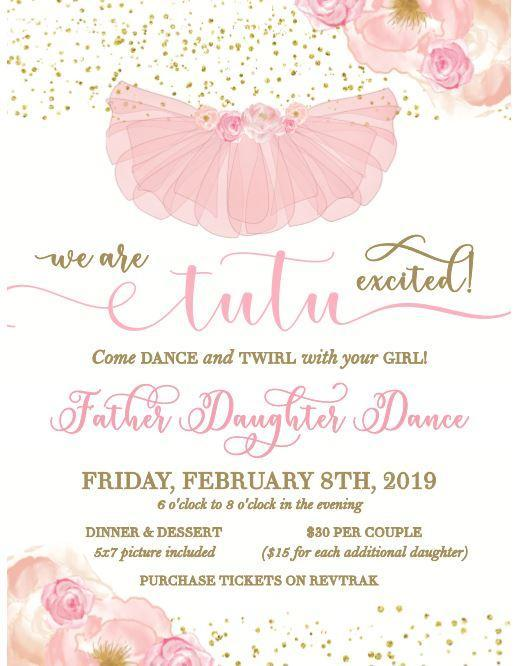 GBE Father/Daughter Dance - Friday, February 8, 2019 Featured Photo