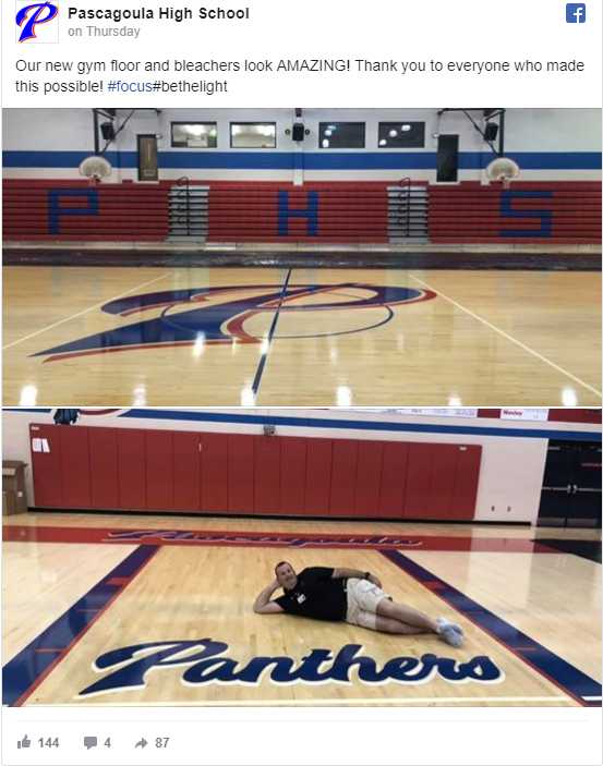 Pascagoula High Ready to Welcome Students Back with New School Improvements