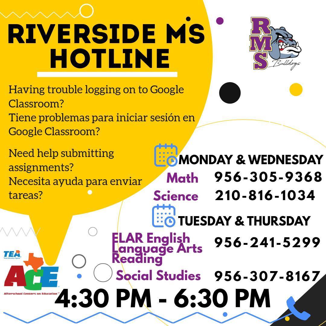 Riverside Parent Hotline