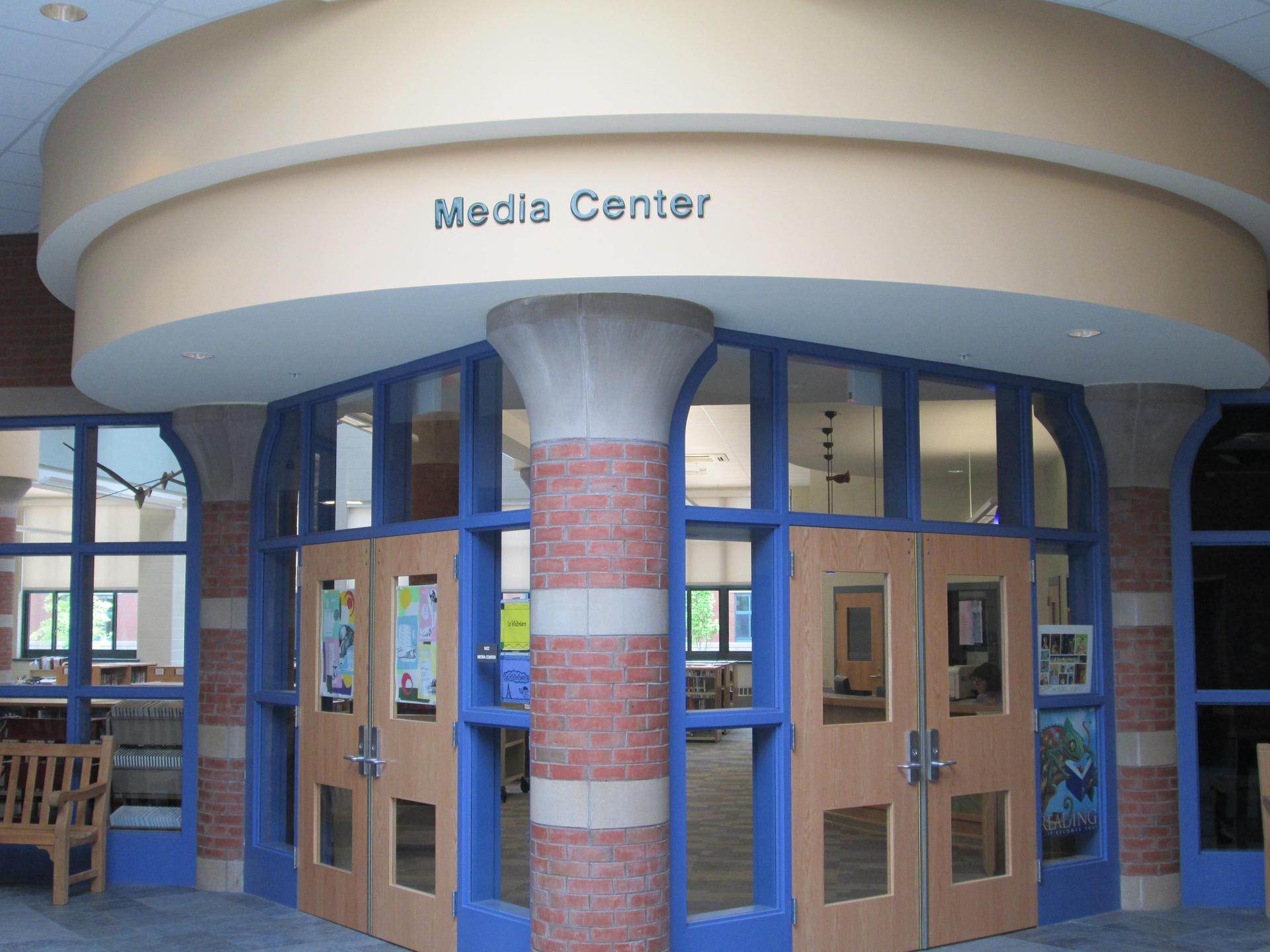 KMS Media Center Entryway