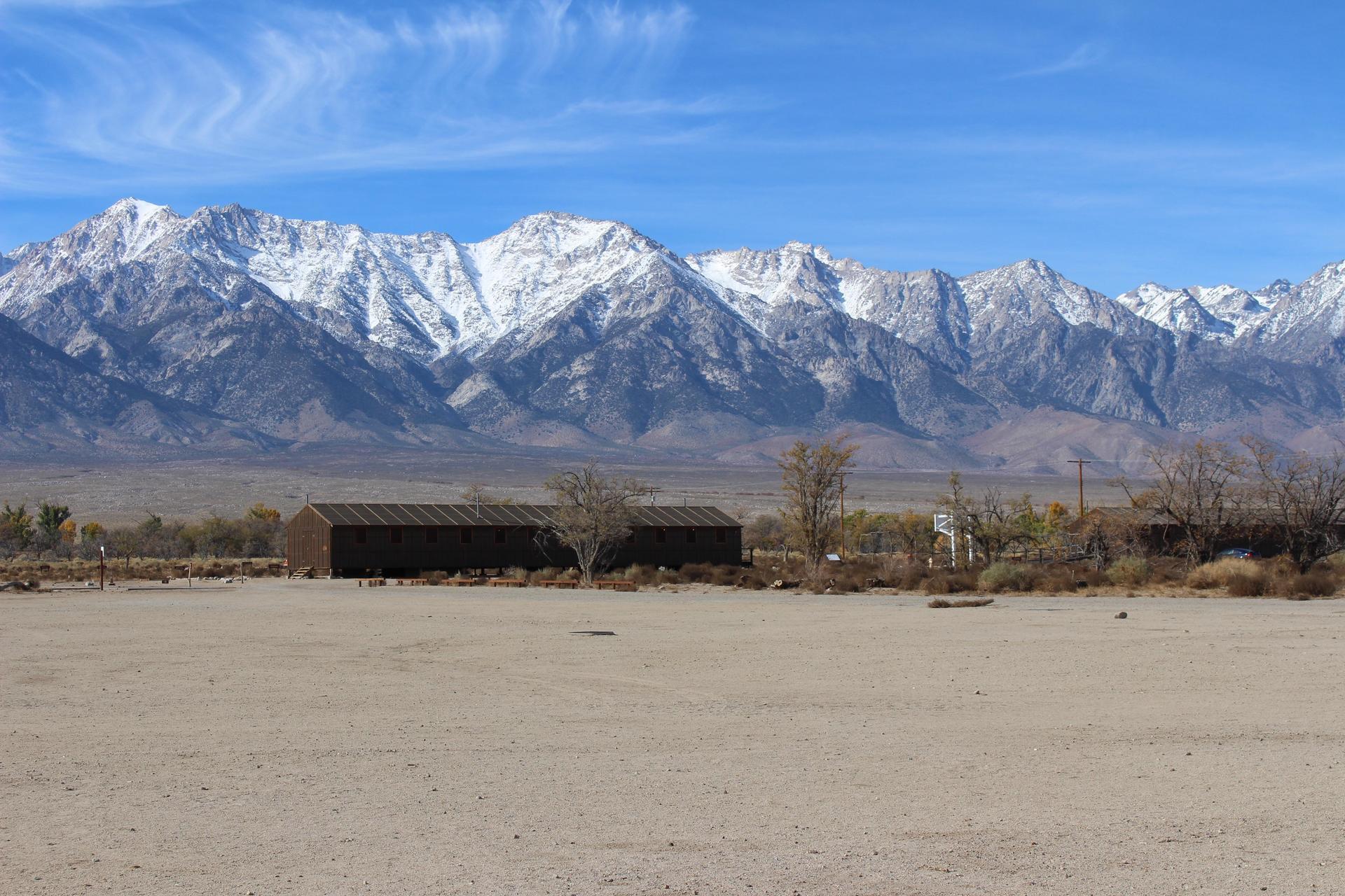 Manzanar and the Sierras