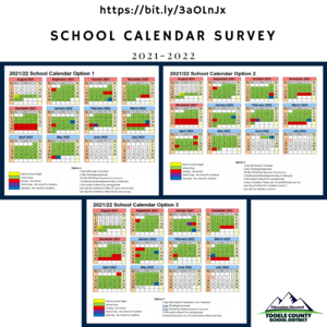 School Calendar survey graphic