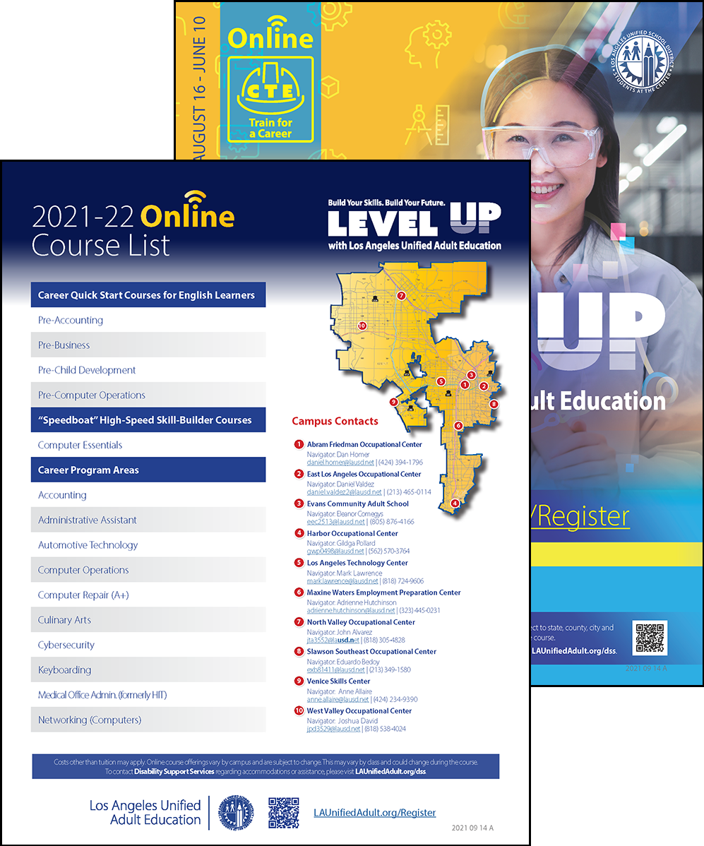Career Technical Education Flyer - Online - Cover 05