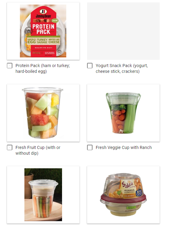 Grab & Go Lunch Survey Featured Photo