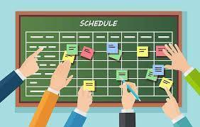 Scheduling Information Featured Photo