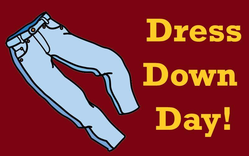 Friday, 10/29 Is a District-Wide Dress Down Day! Featured Photo