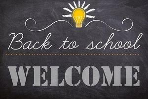 back to school welcome image